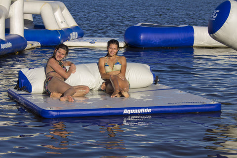 Aquaglide Inflatable Sundeck Swim Platform Lounge - River To Ocean Adventures