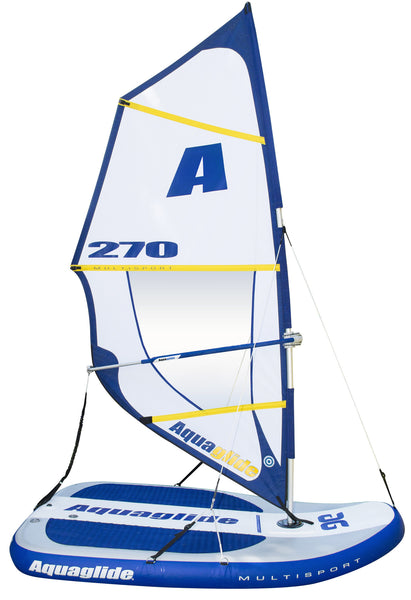 Aquaglide Supersport Inflatable HB Sailboat - River To Ocean Adventures