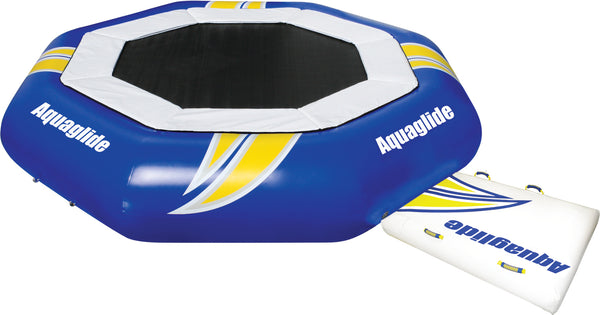 Aquaglide Supertramp Inflatable Water Trampoline - 3 Sizes - River To Ocean Adventures