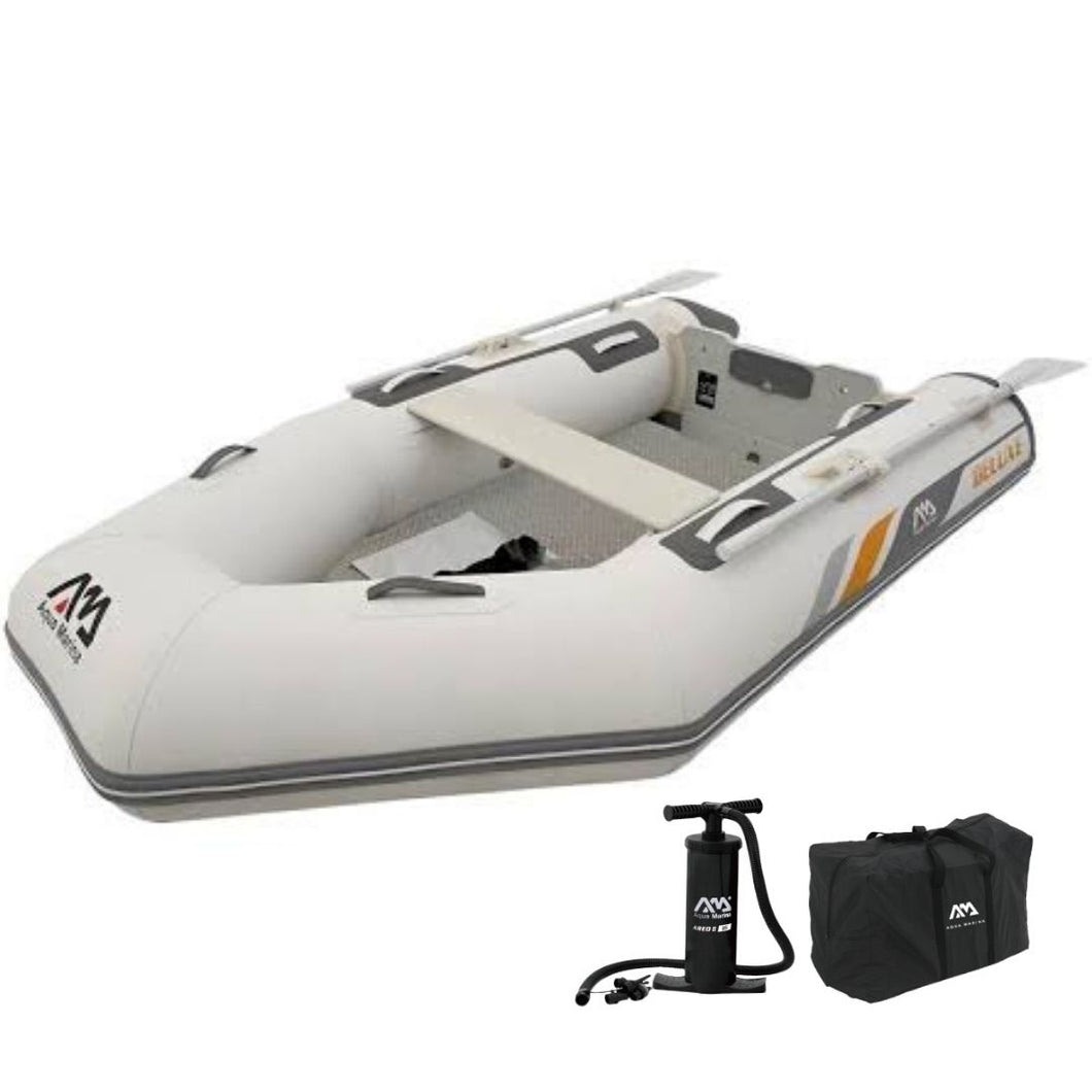 Aqua Marina Deluxe Sports Aluminium Deck Boat - 3.3 - River To Ocean Adventures