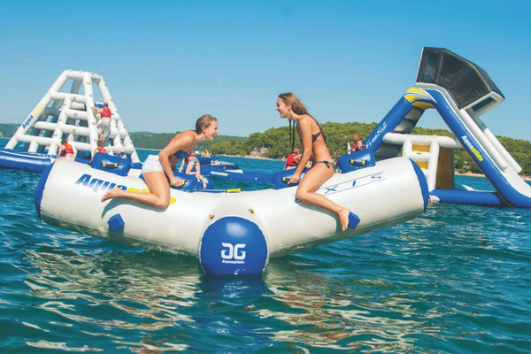 Aquaglide Axis Inflatable Water Seesaw Rocker - River To Ocean Adventures