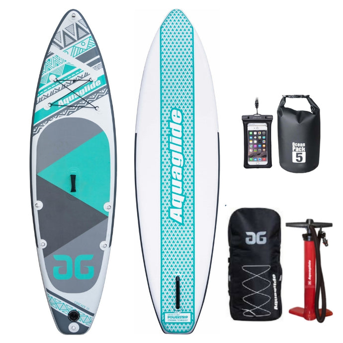 NEW 2019 Aquaglide Cascade 10ft Inflatable Paddleboard SUP - River To Ocean Adventures