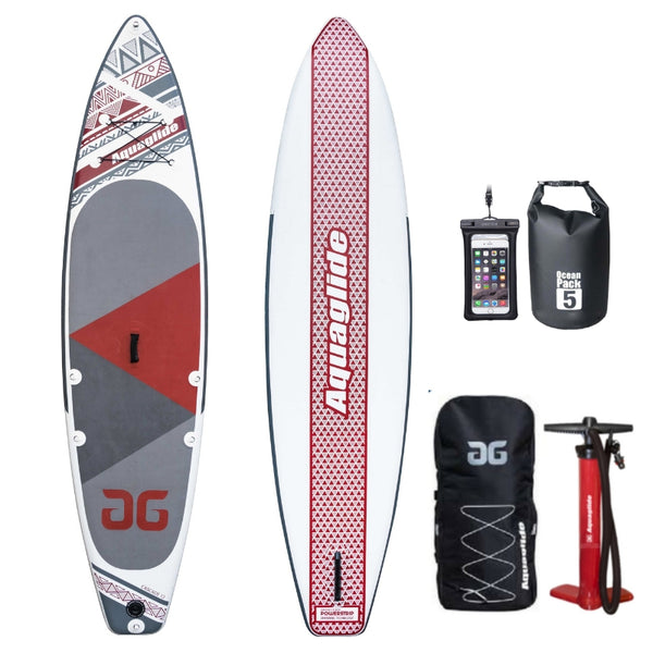 NEW 2019 Aquaglide Cascade 12ft Inflatable Paddleboard SUP - River To Ocean Adventures