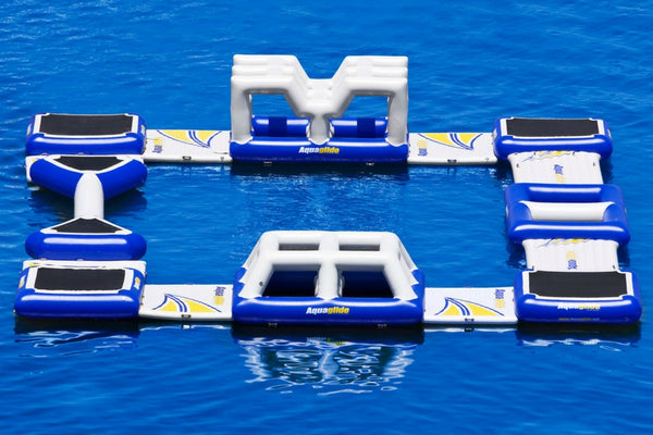 Aquaglide Inflatable Water Challenge Circuit - River To Ocean Adventures