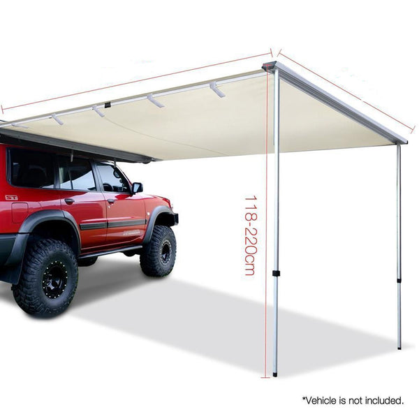 1.4m x 2m Car Side Awning Roof - River To Ocean Adventures