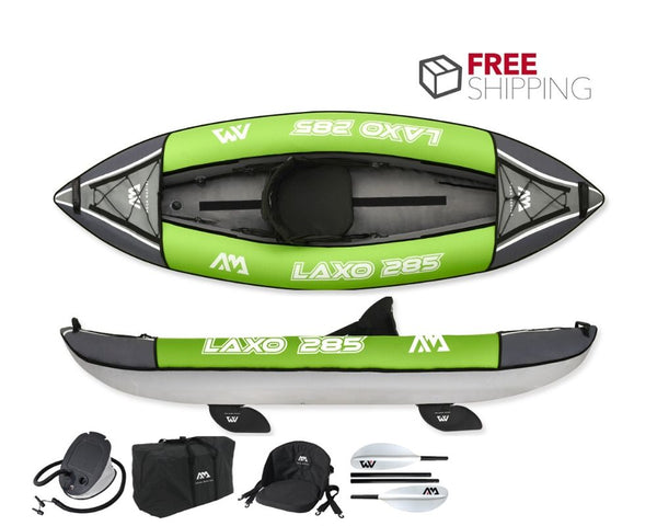 Aqua Marina Laxo 285 1 Person Inflatable Kayak NEW 2020 - River To Ocean Adventures