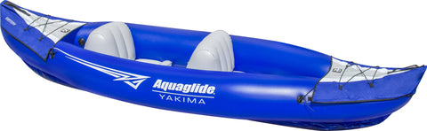 Aquaglide Yakima Inflatable Kayak - 2 Person - River To Ocean Adventures