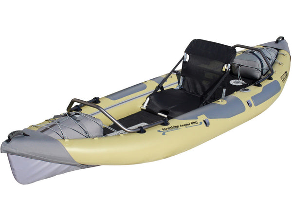 Advanced Elements StraitEdge Angler Pro Inflatable Fishing Kayak - River To Ocean Adventures