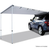 Weisshorn Car Shade Awning 2 x 3m - Grey - River To Ocean Adventures