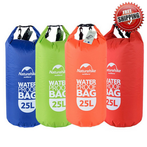 Naturehike Dry Bag 2L, 5L, 15L, 25L - River To Ocean Adventures