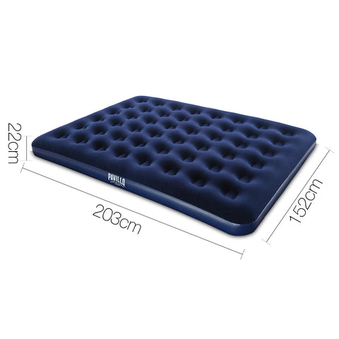 Bestway Queen Size Inflatable Air Matress - Navy - River To Ocean Adventures