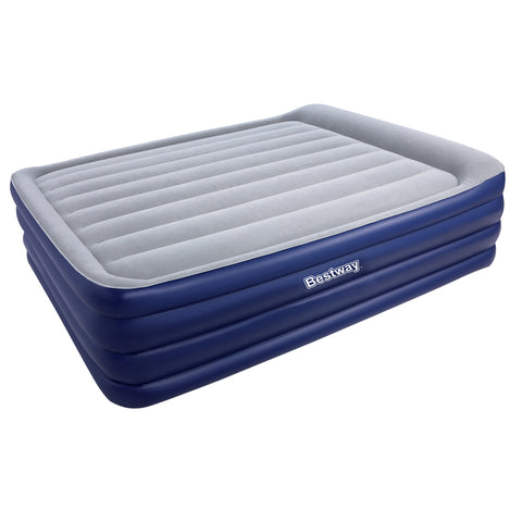 Bestway Queen Size Inflatable Air Mattress - Navy & Grey - River To Ocean Adventures