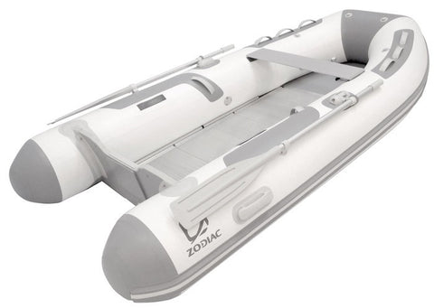 Zodiac Cadet Solid Boat - Aluminium Floor 350 - River To Ocean Adventures