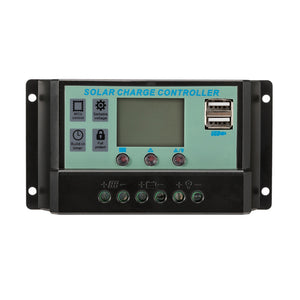 30A 12V/24V LCD Display PWM Solar Panel Regulator Charge Controller & Timer PWN - River To Ocean Adventures