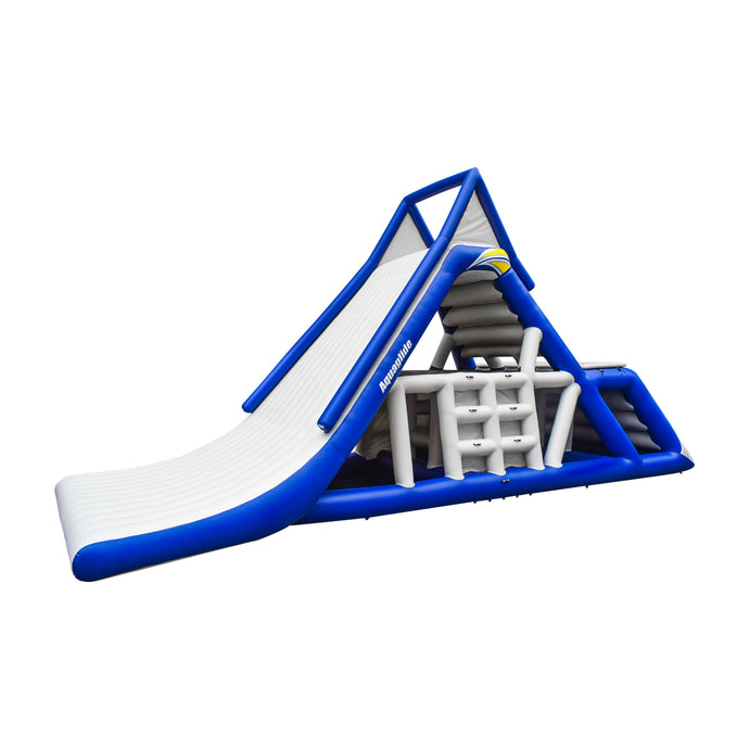 Aquaglide Everest Commercial Giant Inflatable Slide & Climber