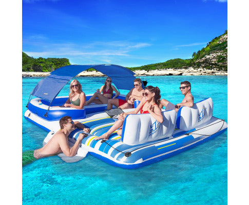 Bestway Tropical Breeze 6 Person Inflatable Floating Island