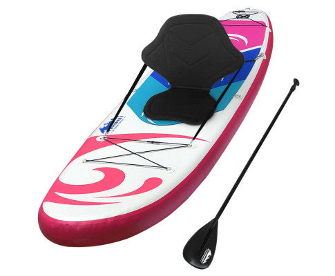 Weisshorn 10ft Stand Up Paddle Board Thick SUP - Pink