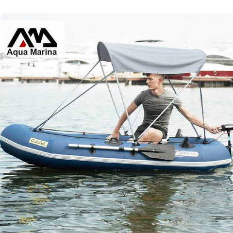 Aqua Marina Inflatable Boat Sunshade - River To Ocean Adventures