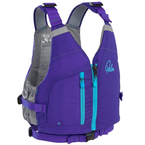 Palm Meander Womens PFD - Purple - River To Ocean Adventures