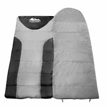 Load image into Gallery viewer, Weisshorn Single Thermal Sleeping Bags - Grey & Black - River To Ocean Adventures
