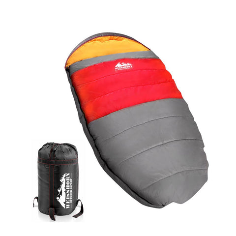 Weisshorn Extra Large Sleeping Bag - Red - River To Ocean Adventures