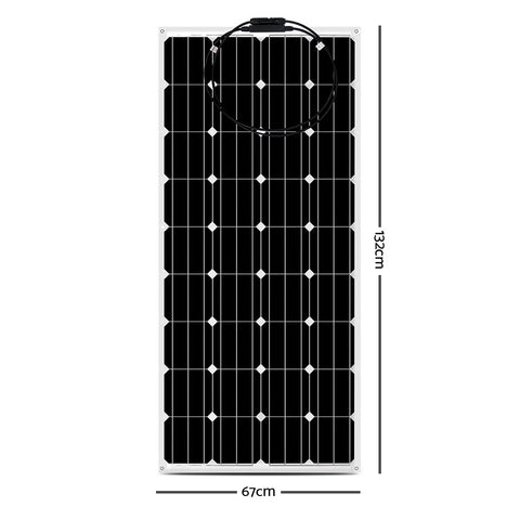 Solraiser 180W Water Proof Flexible Solar Panel