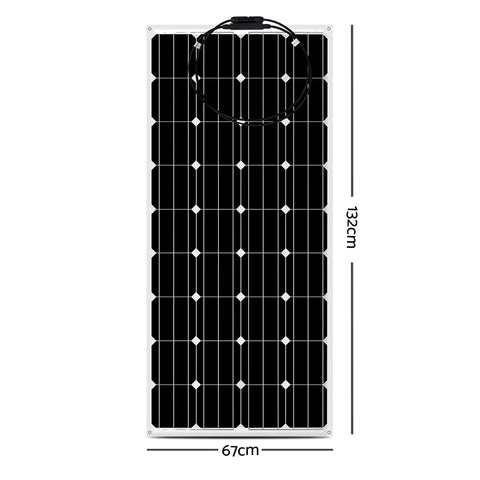 Solraiser 200W Water Proof Flexible Solar Panel