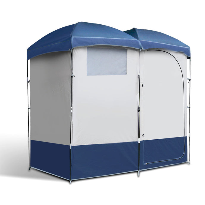 Weisshorn Camping Shower Tent - Double - River To Ocean Adventures