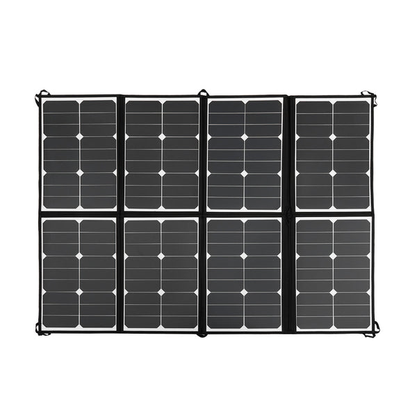 12V 160W Flexible Folding Mono Solar Panel Portable Bag Battery Charging Camping - River To Ocean Adventures