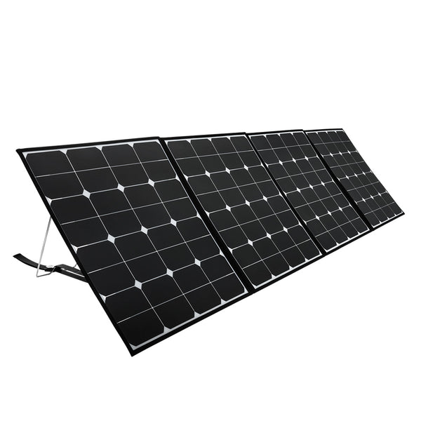 200W Flexible Folding Mono Solar Panel Portable Bag Battery Charging Camping 12V - River To Ocean Adventures