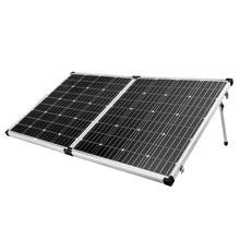 Load image into Gallery viewer, Mono 12V 200W Folding Solar Panel Kit Caravan Boat Camping Generator Charging - River To Ocean Adventures