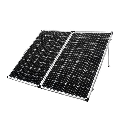 12V 300W Mono Folding Solar Panel Kit Caravan Camping Power Charging Battery - River To Ocean Adventures