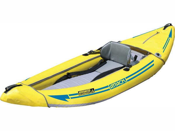 Advanced Elements Attack White Water Inflatable Kayak - River To Ocean Adventures