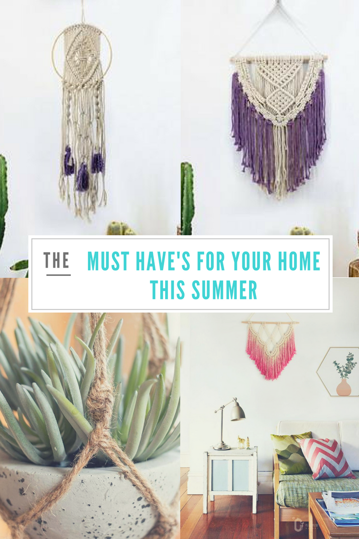 Must have tapestries for your home this summer!
