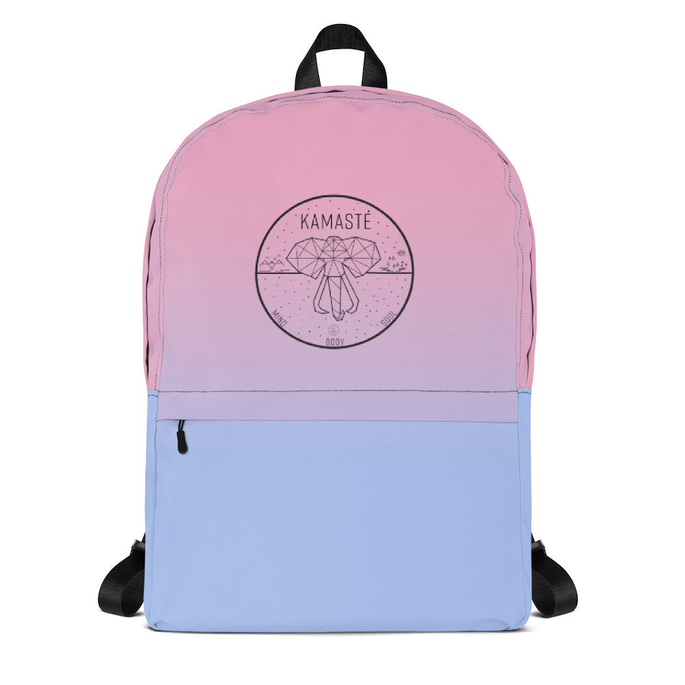 Pink Ombre Backpack - KAMASTÉ