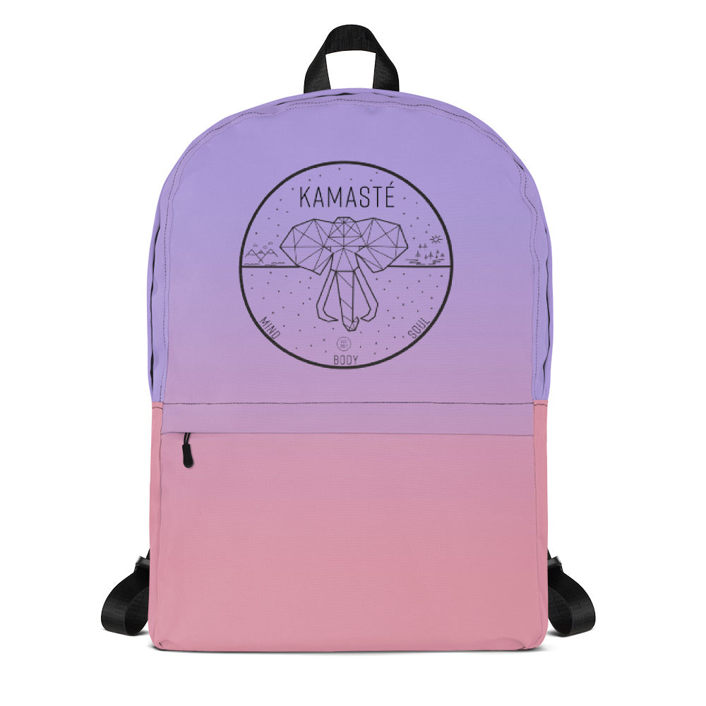 Purple OmbreBackpack - KAMASTÉ