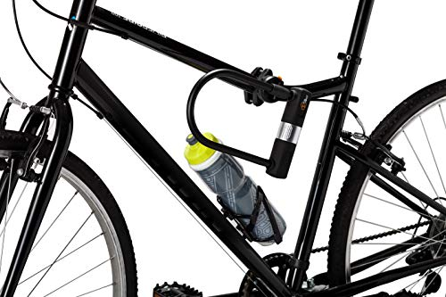 Via Velo 2-in-1 Heavy Duty Bicycle Lock System - 14 mm (0.55 in) Bike U-Lock and 1800 mm (5 ft 10 in) Vandalproof Cable
