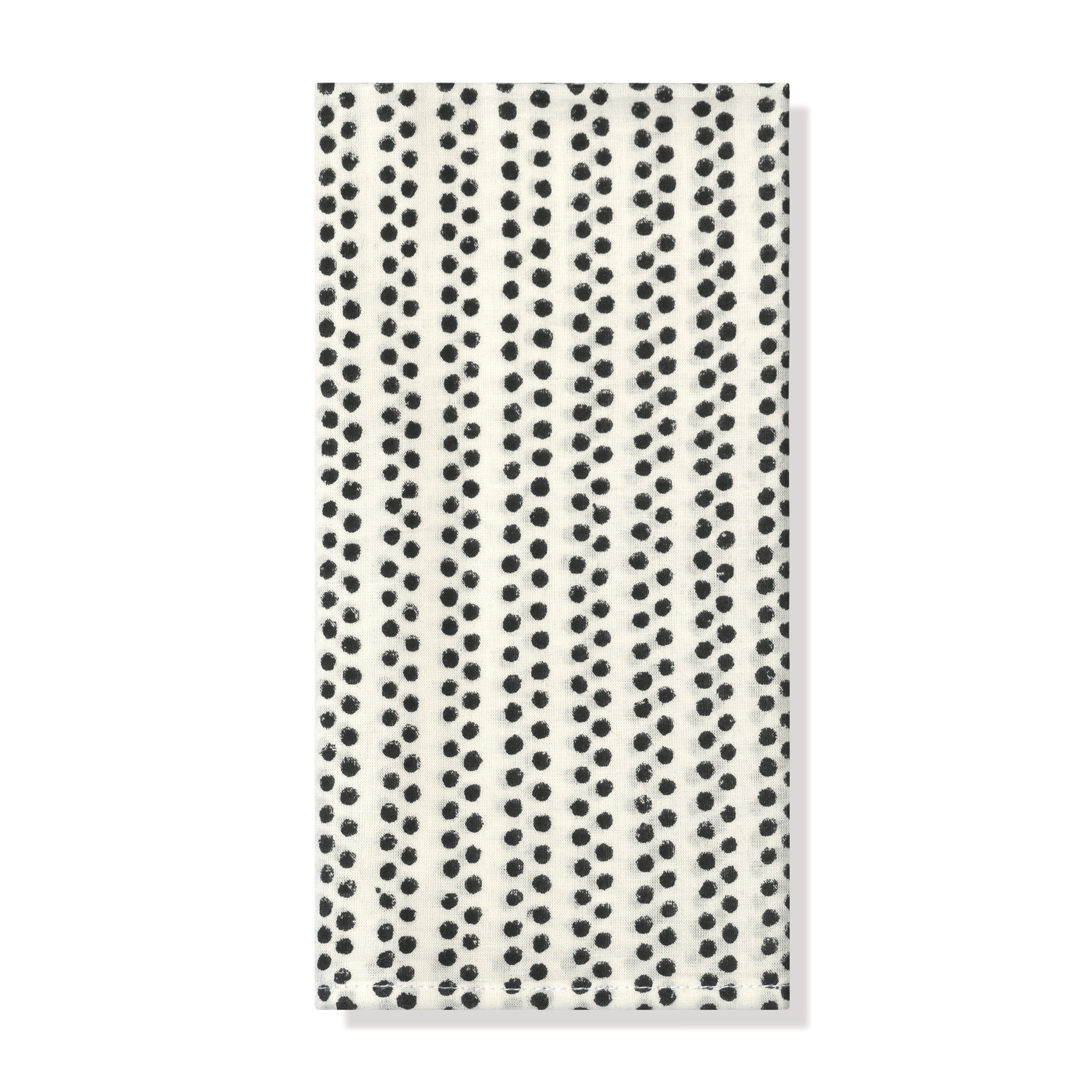 ONYX DOT NAPKIN, SET OF 2