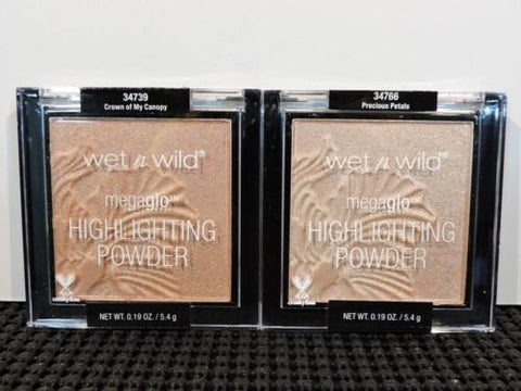 WET N WILD Megaglo Highliting Powders Crown of My Canopy & Precious Petals Duo