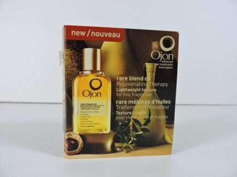 Ojon Rare Blend Oil Rejuvenating Therapy (Fine Hair) New Sample 0.07 fl oz
