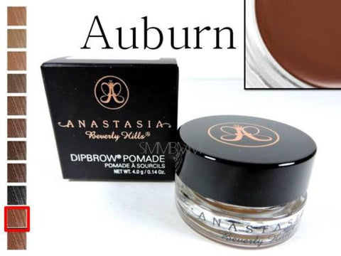 Anastasia Beverly Hills DIPBROW Pomade Auburn Waterproof Eyebrow 4g Full Sz NEW