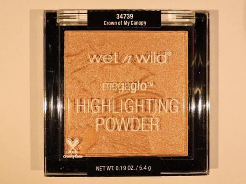 WET N WILD Megaglo Highliting Powder 'Crown of My Canopy' Strobe Makeup 34739