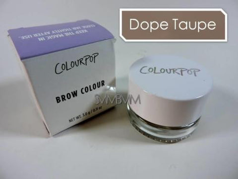 COLOURPOP Brow Colour 'DOPE TAUPE' Crème Gel | Soft Taupe 3g Full Size