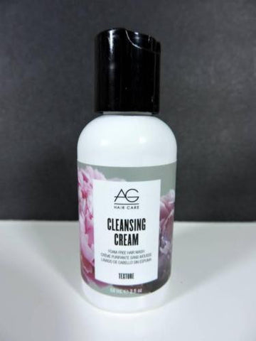 AG Hair Care CLEANSING CREAM Foam-Free Hair Wash TEXTURE (59ml Travel Sz) NEW