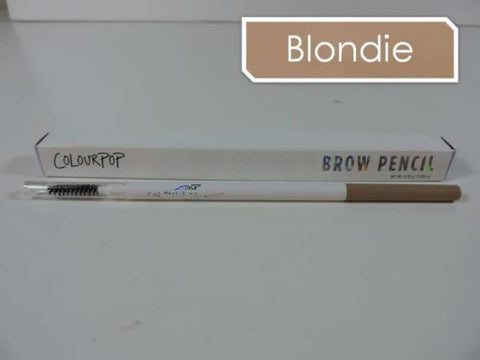 COLOURPOP Brow Pencil 'BLONDIE' Crayon & Brush | Cool-toned Ash Blonde 0.09g