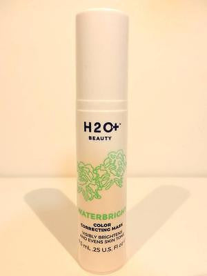 H2O+ Beauty WATERBRIGHT Color Correcting Mask 7.5mL/.25 Fl Oz Travel Size