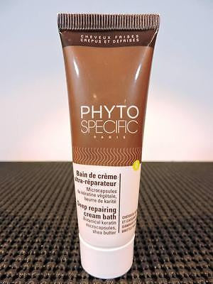 PHYTO Specific Deep Repairing Cream Bath for Curly Coiled Relaxed Hair 30ml