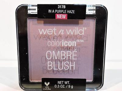 WET N WILD Color Icon Ombre Blush 'In a Purple Haze' 317B (9g) Shadow