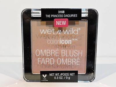 WET N WILD Color Icon Ombre Blush 'The Princess Daiquiries' 316B (9g) Shadow