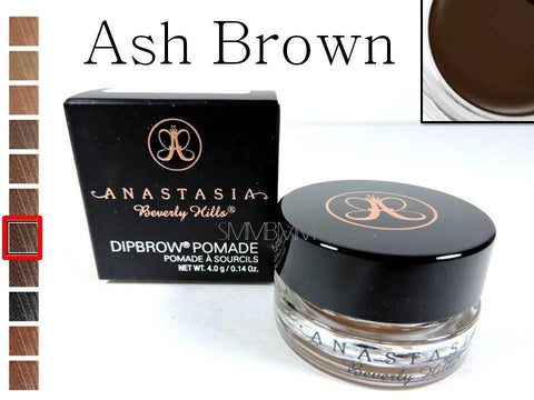 Anastasia Beverly Hills DIPBROW Pomade Ash Brown Waterproof Eyebrow Full 4g NEW